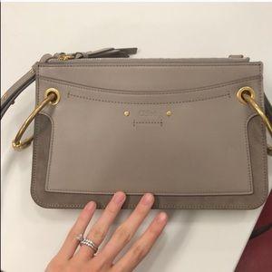Chloe small Roy leather shoulder bag